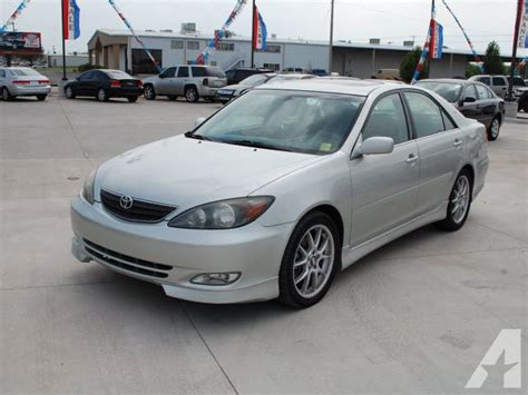 Toyota Camry Se For Sale 2003 Toyota Camry Se For Sale In Wichita Kansas
