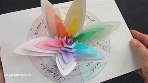 flower pop up card templates dahmen channel trailer designpd