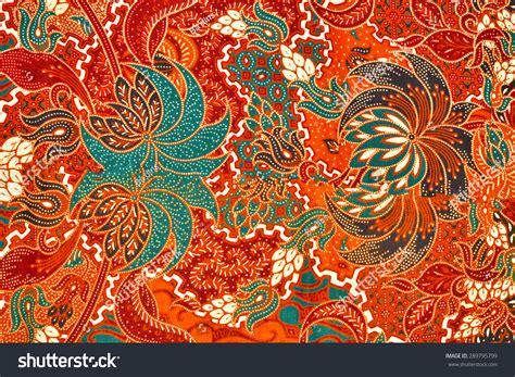 Setelan Beautiful beautiful malaysian batik pattern stock