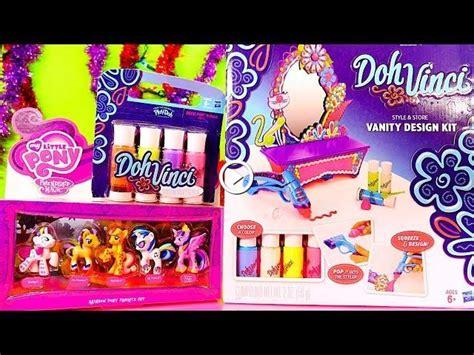 Set Disney Pony dohvinci tutorial vanity design kit from play doh my
