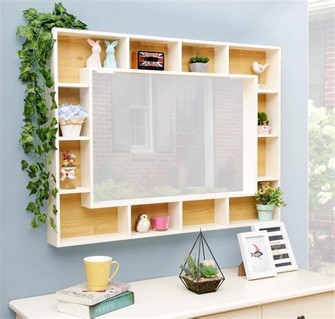 Rak Buku Hexagonal 41 model rak dinding minimalis modern terbaru 2018 dekor