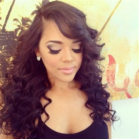 photos of black women sew in hairstyles black sew in hairstyles
