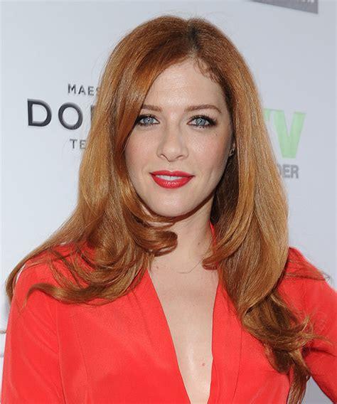 Rachelle Lefevre Long Straight Formal Hairstyle   Light