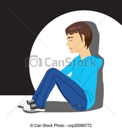 Floor Plans For My Home vectors illustration of sad depressed teenager boy sad