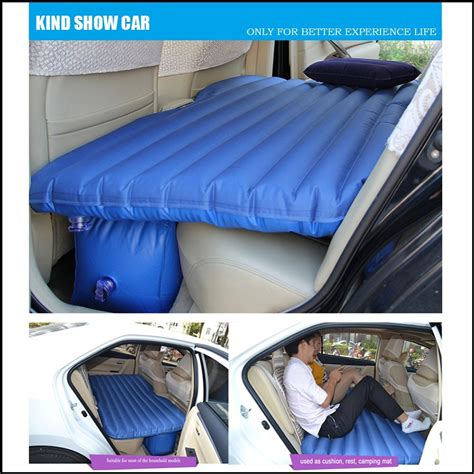 car inflatable bed xelectron car inflatable bed with electric pump pillow