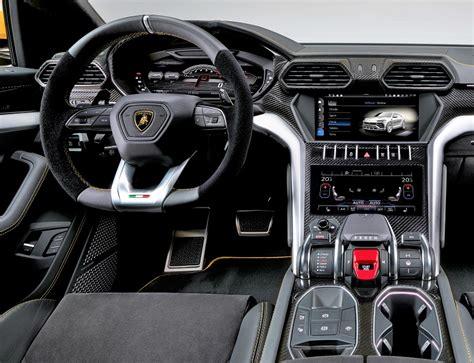 lamborghini inside 2017 lamborghini urus interior motor trader car news