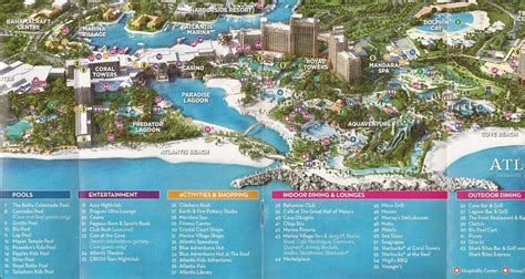 atlantis bahamas map atlantis bahamas map