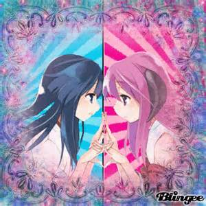 Anime girl twins c step824 animated pictures for sharing 125587343