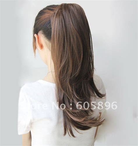 ponytail extensions hair free shipping 2012 summer new fashion ponytail hairpieces