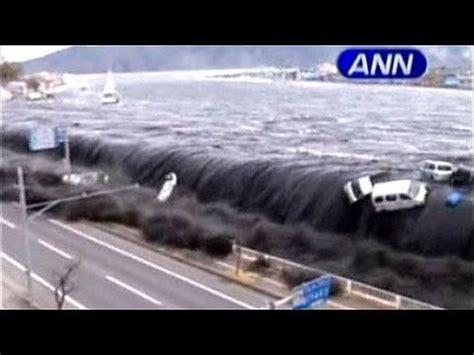 imagenes fuertes del tsunami en japon jap 243 n impactantes im 225 genes del tsunami youtube