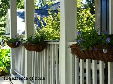 Planters For Wrought Iron Railings by 17 Best Railing Images On