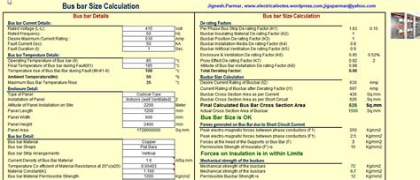 electrical engineering excel spreadsheets 100 images
