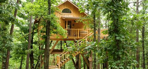 whispering wood treehouse eureka springs cabins