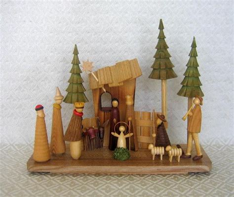 Handmade Wooden Nativity Sets - 147 best nativity s images on