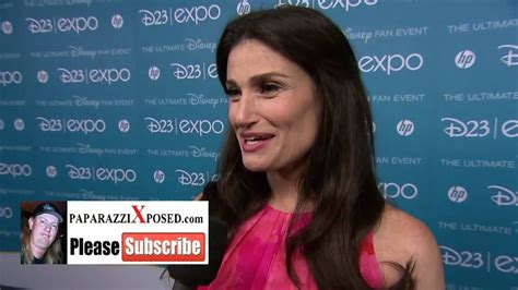Popbytes Interviews Idina Menzel by Idina Menzel Of Frozen With Paparazzixposed