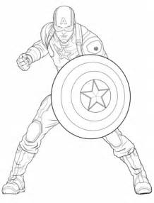 Avengers Captain America Coloring Page Free Printable Coloring Pages Captain America