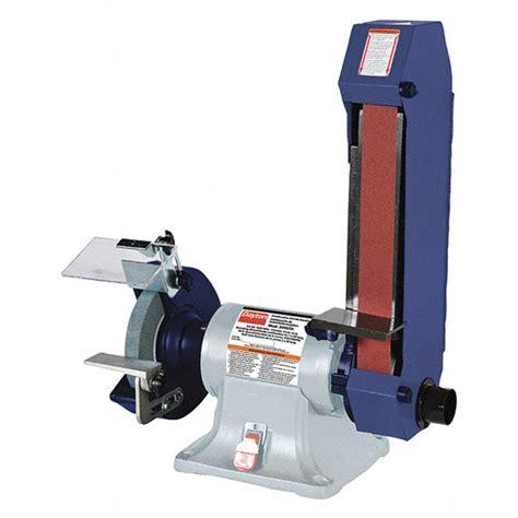 dayton bench grinder dayton combo belt bench grinder 8 in dia 2x48 3nya7