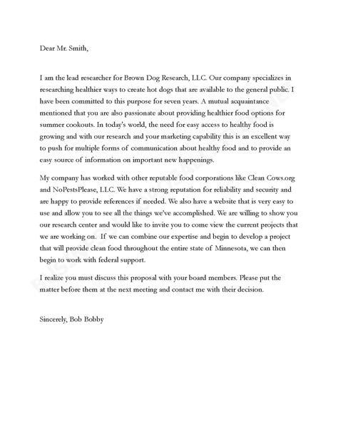 Letter For Partnership Template Letter Of Intent For Business Partnership Template Professional Sles Templates