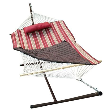 Hammock With Stand Set Clearance Patio 12 Hammock Stand Set Brown Target