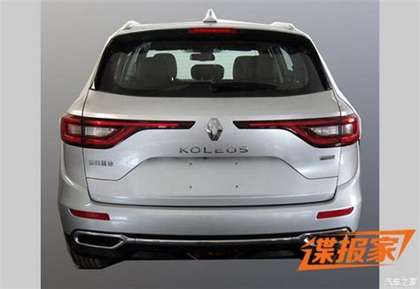 renault jeep 2017 2017 renault koleos suv this is it carscoops