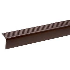 Rubber Stair Nosing by 3 Ft Stair Nosing Rona