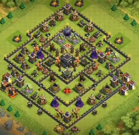 coc map layout th9 top 12 best th9 trophy bases 2017 anti everything