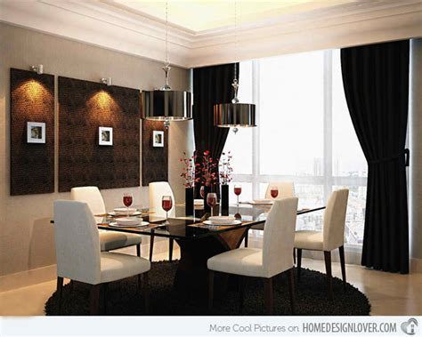 Window treatments for dining room