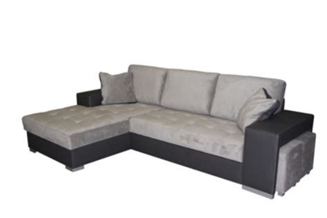 Canape D Angle Tissu Gris 957 by Canap 233 Pas Cher But Fr
