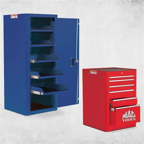 side of cabinet storage tool storage mac tools