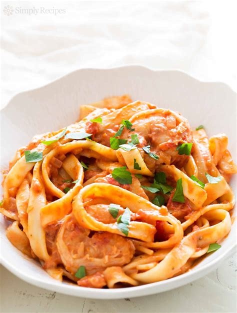 shrimp pasta alla vodka recipe with video