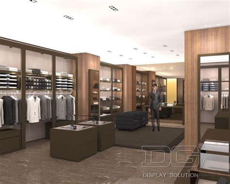 gr159 modern retail menswear clothing shop interior design