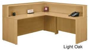 Reception Desk Riser Reception Desk W Riser Stocked In 7 Color Combinations