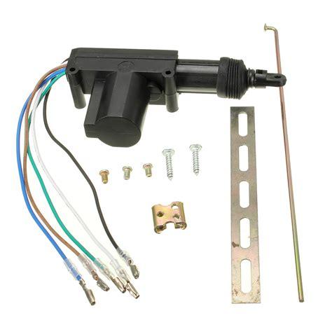 moteur de verrouillage de porte de voiture voiture verrouillage centralis 233 porte lock actionneur moteur 5 fils alimentation achat vente