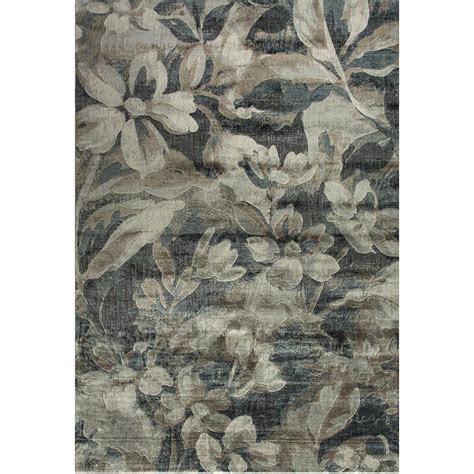 dynamic rugs treasure dynamic rugs royal treasure soft blue mocha 5 ft 3 in x 7 ft 7 in indoor area rug
