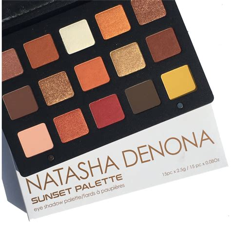 Denona Sunset Palette denona sunset eyeshadow palette review swatches cali beaute
