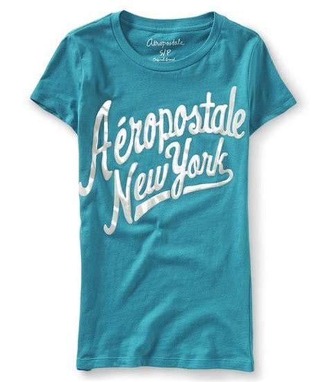 Aeropostale Newyork Tees Branded aeropostale womens new york script graphic t shirt womens apparel free shipping on all