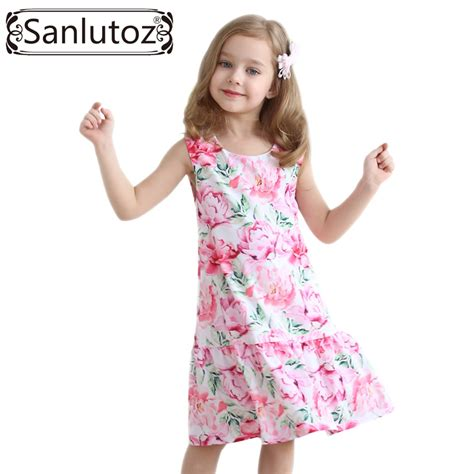 aliexpress girl clothes aliexpress com buy sanlutoz girls dress children