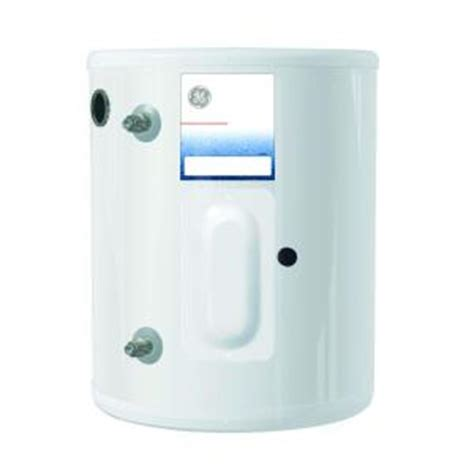 Small Water Heaters Electric Home Depot Ge 6 Gal Electric Point Of Use Electric Water Heater