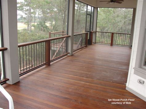 Best Wood For Porch Floor by Wood Porch Flooring Tongue And Groove Decking