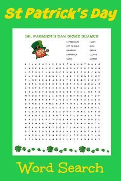 printable word search evolution st patrick s day word search puzzle mommy evolution
