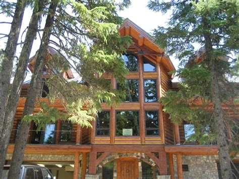 green architecture log home in government c oregon