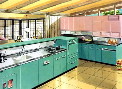 Home Furniture Decoration Kitchens From The 1950s 1950 Kitchen Design