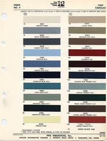 Cadillac Paint Colors 2014 Color Chart For Cadillac Autos Post