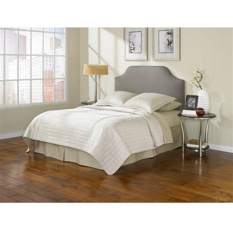 beds and headboards fashion bed bordeaux taupe king size headboard overstock