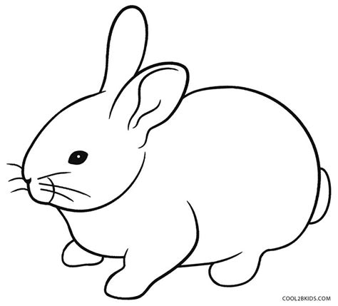 rabbit coloring pages printable printable rabbit coloring pages for kids cool2bkids