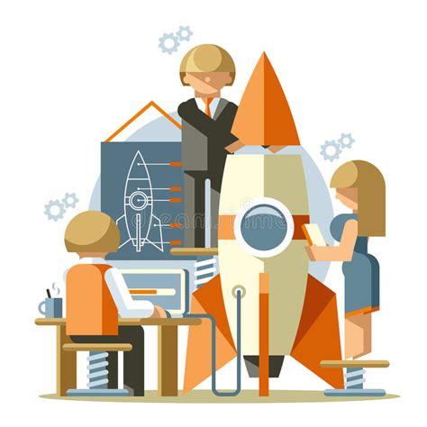 free illustration startup start up business start office startup stock vector image 49612527