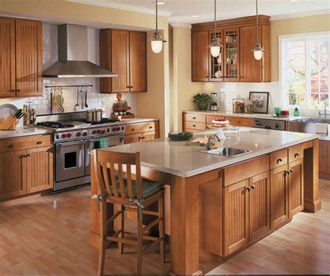 Toffee Kitchen Cabinets by Homecrest Maple Bayport Toffee Stain Kitchens