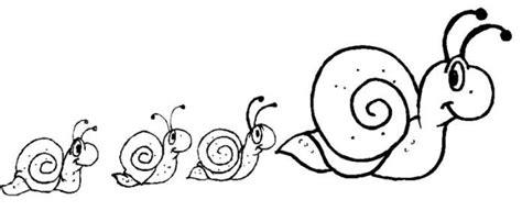 imagenes de la familia de animales familia de caracoles dibujalia dibujos para colorear