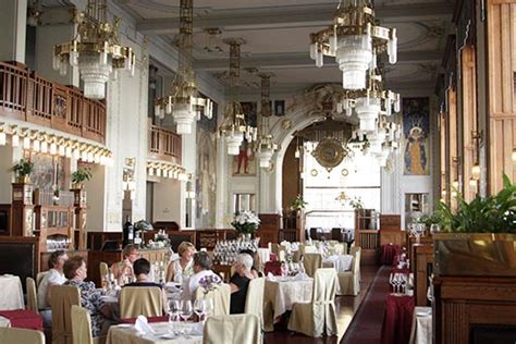 One Story House French Restaurant Municipal House Prague Czech Republic