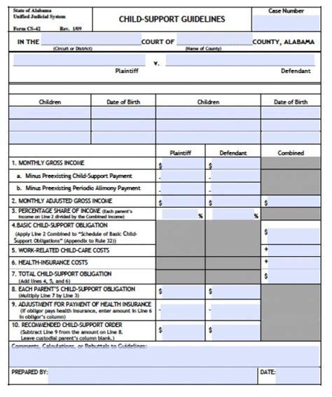 Louisiana Child Support Worksheet by Louisiana Child Support Worksheet Photos Dropwin